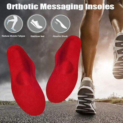 Orthotic Arch Support Shoe Insoles Pads Flat Feet Inserts Pain Relief Men/Women