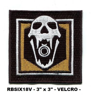RBSIX37V ECHO RAINBOW SIX OPERATOR PATCH WITH HOOK BACKING