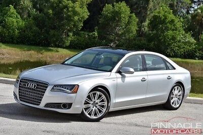 2012 Audi A8 L W12 One Owner Clean Carfax $153,655 MSRP! A8L 2012 Audi A8 L W12 $153,655 MSRP Rear Entertainment Absolutely Loaded!!