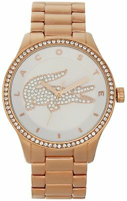 Lacoste Ladies' Victoria Gold Bracelet Watch.