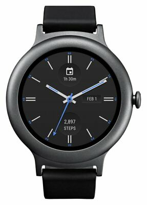 LG Watch Style iOS Android Google Now Voice Activation Smart Watch - Titanium
