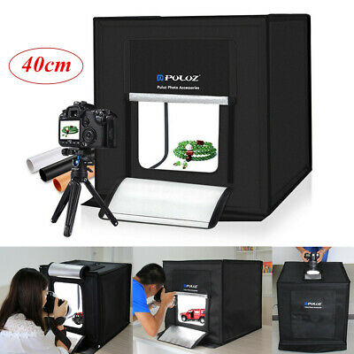 PULUZ 40cm 64 LED Studio Light Room Photography Box Photo Tent Foldable Cube