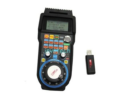 New Wireless Remote Hand Wheel 4 Axis Motion Control Card Handwheel for CNC