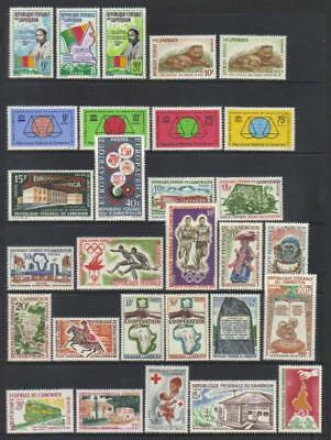 (D4) Cameroon 1963-1965 Mlh Selection Cat £31+