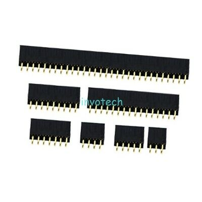 Electronic Components & Supplies 10pcs 2x6 Pin 12p 2.54mm Double Row Female Straight Header Pitch Socket Strip Special Summer Sale Active Components