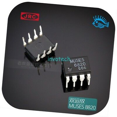 MUSES8920 dual op amp IC Module For JRC straight plastic DIP8 original authentic