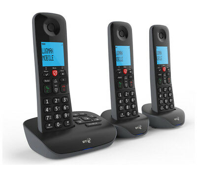 BT Essential DECT Cordless Telephone & Answering Machine Triple Caller ID