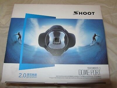 Shoot Underwater Dome Port For GoPro Hero4 and GoPro 3+ 2.0 Generation