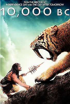 10, 000 B.C. (DVD, 2008) widescreen and fullscreen dvd's included