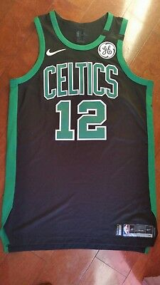 cheap for discount 91076 c4515 TERRY ROZIER 2018 Game Worn Black Road Jersey Boston Celtics gameused WOW  !!!!