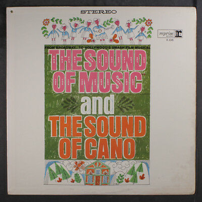 EDDIE CANO: The Sound Of Music LP (Mono, tri-tone label, metal grommet on cover