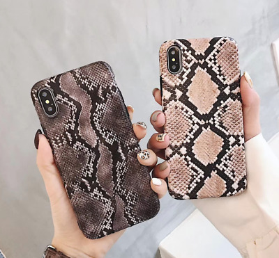 Snake Rubber Silicone Case Cover for iPhone Xs Max XR X 8 7 6s 6 Plus Shockproof