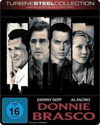 Donnie Brasco [Turbine Steel Collection - Depp,Johnny   Blu-Ray Neuf