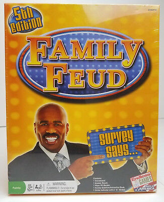 FAMILY FEUD 5TH Edition Party Game - Brand New Sealed - $18 99