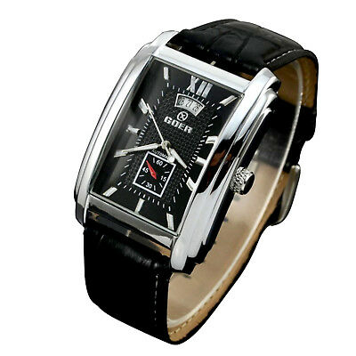 Mens Automatic Mechanical Watch Swiss Date Luxury Sport Wrist Watch