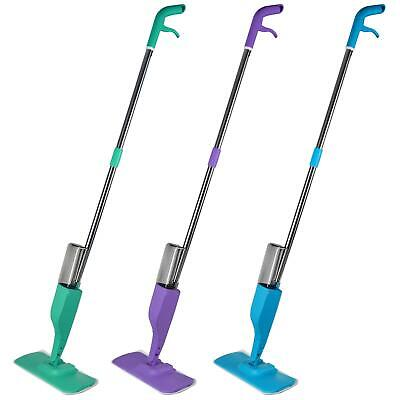Flat Microfibre Spray Mop Head Cloth Water Wooden Floor Cleaner Tiles Kitchen