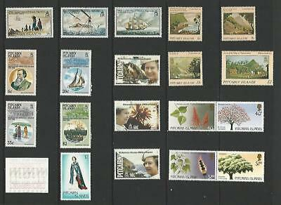 y6251 Pitcairn Islands / A Small Collection Early & Modern Umm