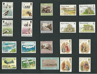 y6253 Pitcairn Islands / A Small Collection Early & Modern Umm