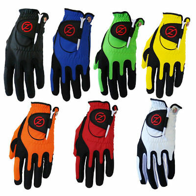 """""""New 2019"""" Zero Friction One Size Compression Fit Mens Golf Gloves All Colours"""