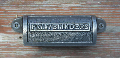 Cast Iron antique style Peaky Blinders Draw Pull Opener Handle
