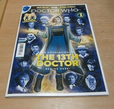 BBC Doctor Who Tales from the Tardis magazine comic 2.1 NOV.DEC 2018 The 13th Dr
