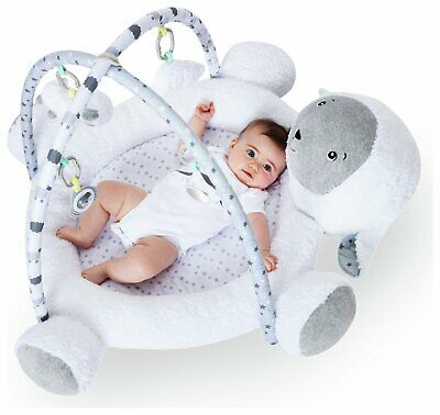 Cuggl 90cm 3D Foldable Playgym with Hanging Accessories - Sheep