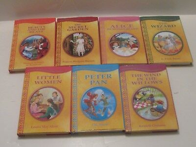 Treasury Of Illustrated Classics Hardcover, Lot of 7  All With Dust Covers