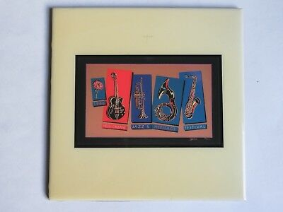 Festival TILE ~ New Orleans Jazz & Heritage Fest ~ 1986 Lyndon Barrois Design