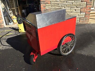 Hot Dog Mobile Catering Cart / Trolley / Stall