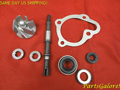 Water Pump Kit w/ Impeller & Gasket, Honda Chinese 250cc Scooter ATV Trike Buggy