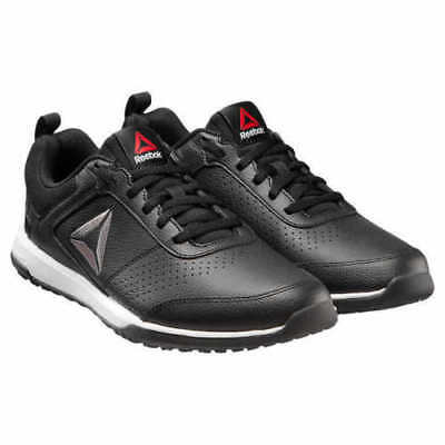 New Reebok Men's CXT TR Athletic Shoes Training Sneaker Black Leather