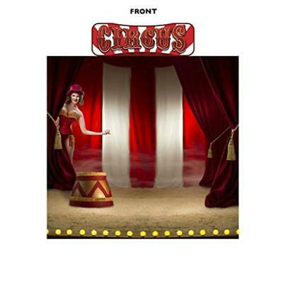 Advanced Graphics 2694 88 x 94 in. Circus Backdrop & Circus Header Wall Decal