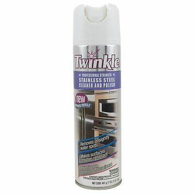 Twinkle 525417 17 Oz Stainless Steel Cleaner & Polish