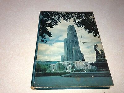 Vtg 1951 University of Pittsburgh PA Owl College Yearbook Annual Pitt