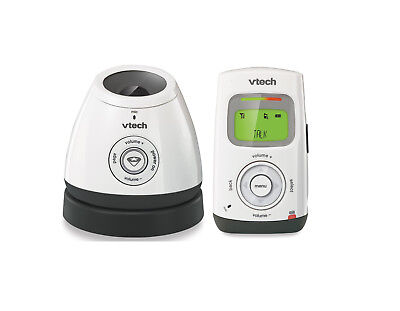 VTech DM222 Safe&Sound® Digital Audio Baby Monitor w Glow-on-Ceiling Night Light