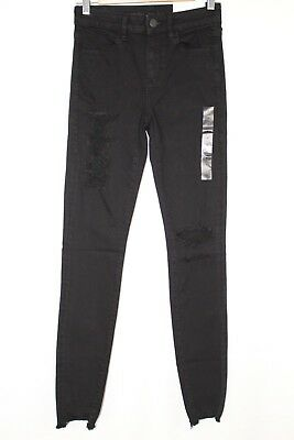 c1b544ea7c7d0 New American Eagle Women's Hi Rise Jegging 4 Next Level Stretch X Black  Blaze