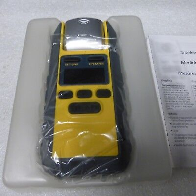Ultrasonic LCD Sonic Distance Tape Measure Meter Pointer Measure CE inc VAT