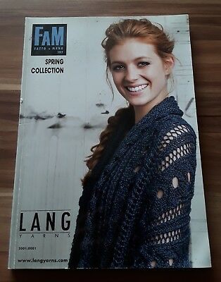 FAM Fatto a Mano 197, Spring Collection, Lang Yarns, Strickheft