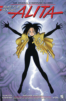 Battle Angel Alita Deluxe Edition Volume 5 Hardcover Graphic Novel
