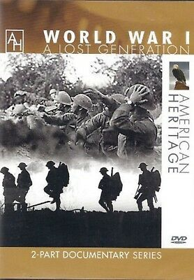 WORLD WAR I A LOST GENERATION (DVD) documentary series American Heritage WWI NEW