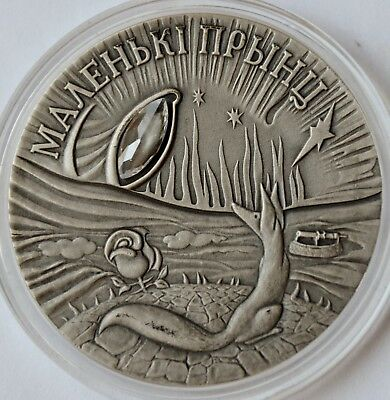 Belarus, 20 Roubles, 2005, The Little Prince, Proof Silver Coin