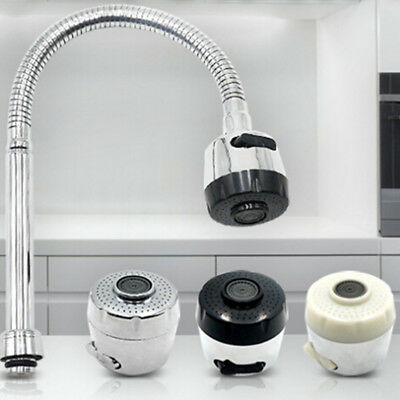 Kitchen Faucet Aerator Water Bubbler Head Water Saving Filter Two Water Mode