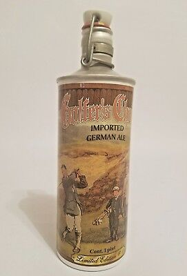 Golfer's Choice Beer Cans German Ale Swing Top Pint Bottle Limited Edition #1