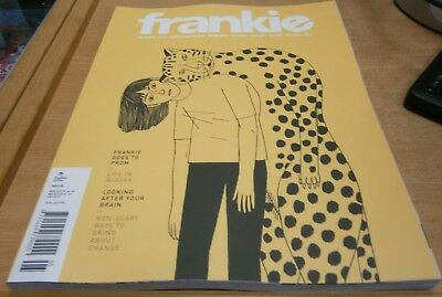 Frankie magazine #85 2018 Prom + Life in Alaska, Look after your brain + Change