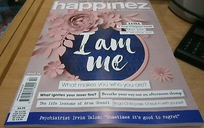 Happinez magazine #14 2018 What makes you who you are? + Inner Compass cards