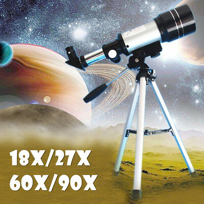 AU F360x50 HD Zoom Astronomical Monocular Telescope Night Vision+Tripod&Eyepiece