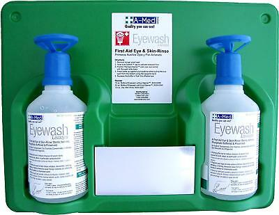 A-Med Eyewash Station with Eye-Opener, 16 Ounce