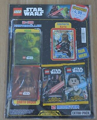 Lego® Star Wars™ Serie 1 Trading Card Game Extra Pack LE5 inkl Sleeves & Booster