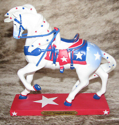 TRAIL PAINTED PONIES Star Spangled Rodeo 1E/2716~Decked Out for National Anthem~