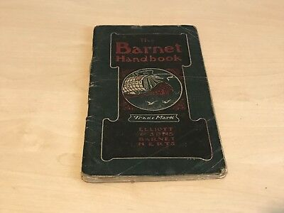 Early 1900s Elliott & Sons Barnet Handbook Concise & Practical Guide Photography